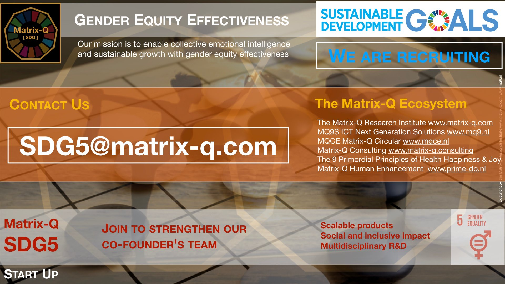 Matrix-Q SDG5 Start-Up Gender Equity Effectiveness.003